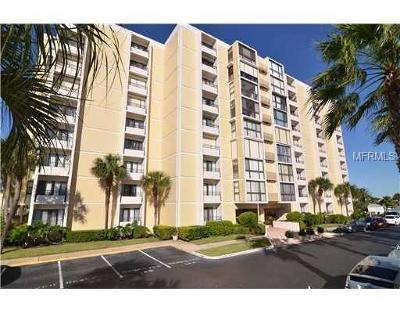 Clearwater Beach Condo For Sale: 800 S Gulfview Boulevard #806