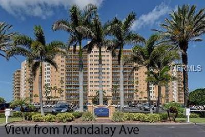 Clearwater Beach Condo For Sale: 880 Mandalay Avenue #C214