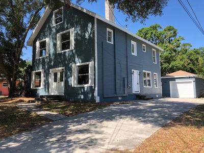 Hernando County, Hillsborough County, Pasco County, Pinellas County Single Family Home For Sale: 623 1st Avenue N