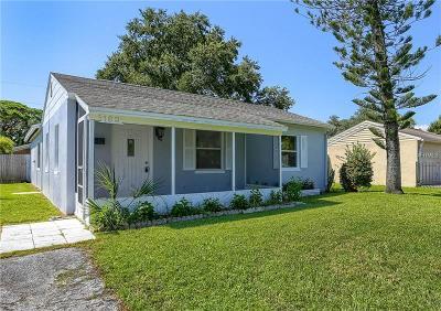 St Petersburg Single Family Home For Sale: 162 41st Avenue NE