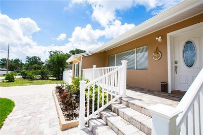 Tarpon Springs Single Family Home For Sale: 909 Riverside Drive