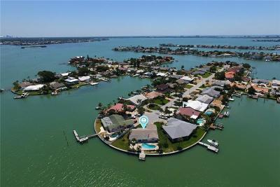 St Pete Beach Single Family Home For Sale: 6470 3rd Palm Point
