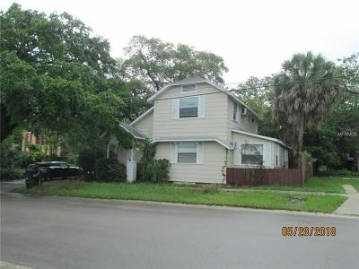 Hernando County, Hillsborough County, Pasco County, Pinellas County Multi Family Home For Sale: 509 S Prospect Avenue