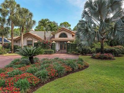 Bonita Springs Single Family Home For Sale: 3625 Woodlake Drive