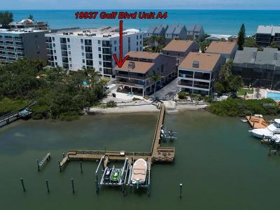 Indian Shores Condo For Sale: 19937 Gulf Boulevard #A4