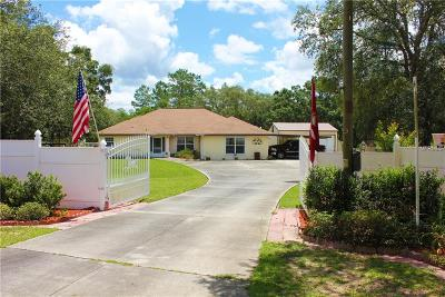 Lecanto Single Family Home For Sale: 7051 S Irma Point #I