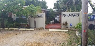 Madeira Beach Single Family Home For Sale: 14906 N Bayshore Drive