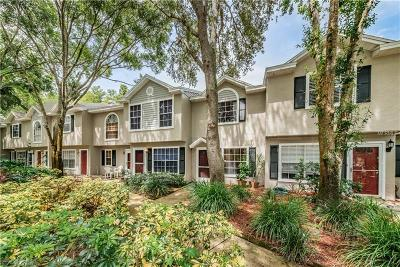 Palm Harbor Townhouse For Sale: 2155 Fox Chase Boulevard #A