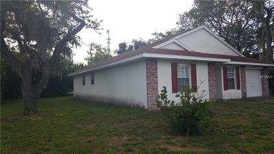 Seminole Single Family Home For Sale: 2271 Palm Avenue