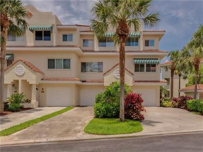 St Pete Beach Townhouse For Sale: 4638 Mirabella Court