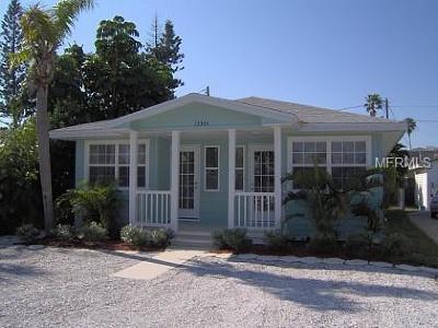 Madeira Beach Single Family Home For Sale: 13304 2nd Street E