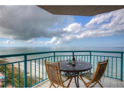 Clearwater Beach Condo For Sale: 1540 Gulf Boulevard #1604