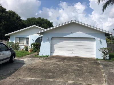 Pinellas Park Single Family Home For Sale: 6217 102nd Terrace N
