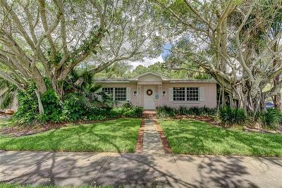 St Petersburg Single Family Home For Sale: 5838 Bayou Grande Boulevard NE