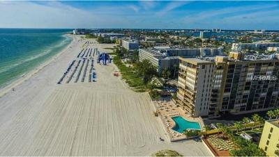 St Pete Beach Condo For Sale: 5396 Gulf Boulevard #709