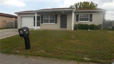 Port Richey Single Family Home For Sale: 8513 Newton Drive