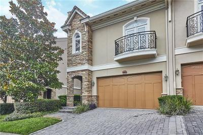 Tarpon Springs Townhouse For Sale: 1473 Hillside Landing Drive