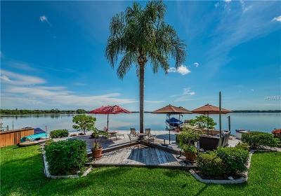 Tarpon Springs Single Family Home For Sale: 1235 Lagoon Road