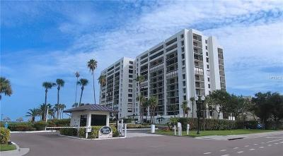 Clearwater Beach Condo For Sale: 1460 Gulf Blvd #112