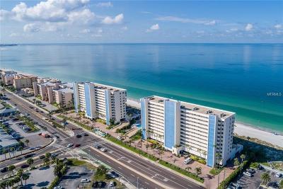 Madeira Beach, Madiera Beach Condo For Sale: 15000 Gulf Boulevard #804