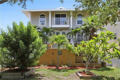 Single Family Home For Sale: 1811 Gulf Boulevard