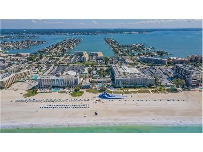 St Pete Beach Condo For Sale: 5500 Gulf Boulevard #6222