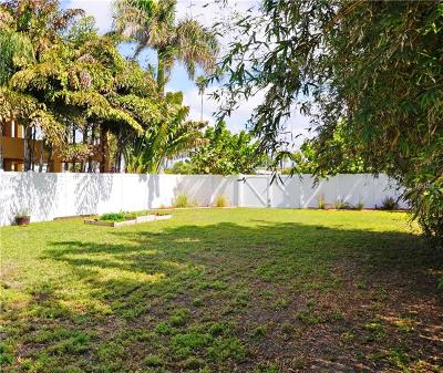 Madeira Beach Residential Lots & Land For Sale: 15392 2nd Street E