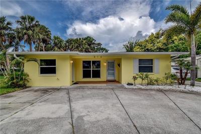 Tarpon Springs Single Family Home For Sale: 816 Seminole Boulevard