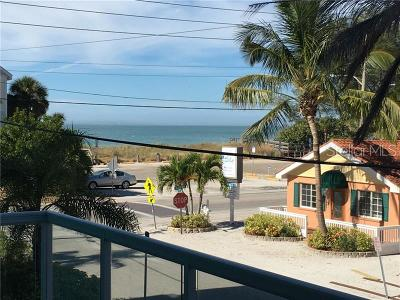 Treasure Island Condo For Sale: 8085 W Gulf Boulevard #101