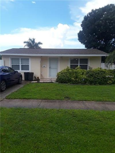 Pinellas Park Single Family Home For Sale: 10070 62nd Street