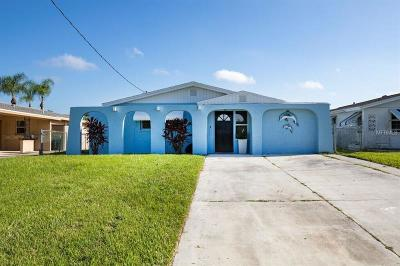 New Port Richey Single Family Home For Sale: 4601 Floramar Terrace