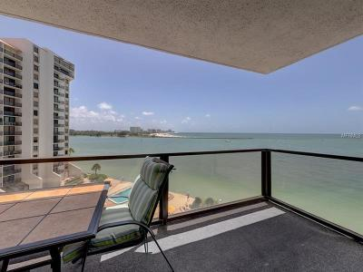 Clearwater Beach Condo For Sale: 440 Gulfview Boulevard S #803
