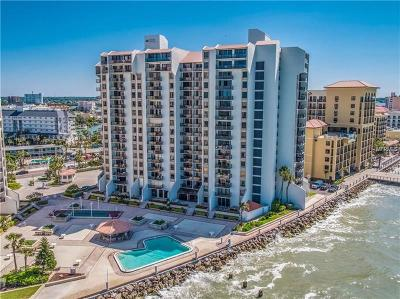 Clearwater Beach Condo For Sale: 450 S Gulfview Boulevard #1005