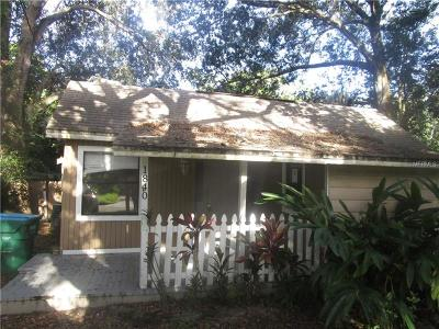 Clearwater Single Family Home For Sale: 1840 Sylvan Drive