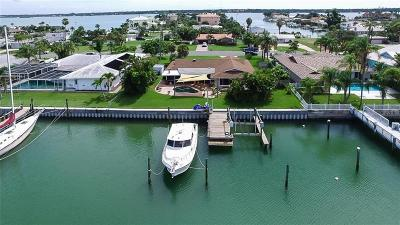 Treasure Island, St Pete Beach Single Family Home For Sale: 12250 7th Street E
