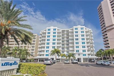 Clearwater Condo For Sale: 1350 Gulf Boulevard #201