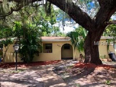 Tarpon Springs Single Family Home For Sale: 429 E Oakwood Street