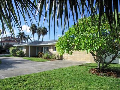 Belleair Beach Single Family Home For Sale: 1208 Bay Drive