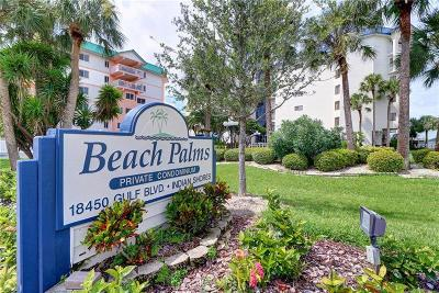 Indian Shores Condo For Sale: 18450 Gulf Boulevard #102