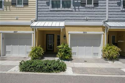 St Petersburg Townhouse For Sale: 3211 Moorings Drive S