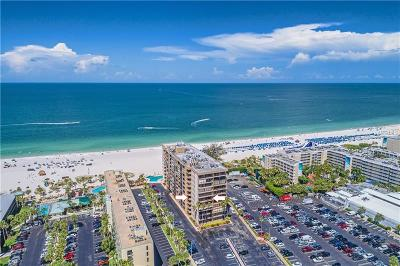 St Pete Beach Condo For Sale: 5396 Gulf Boulevard #307