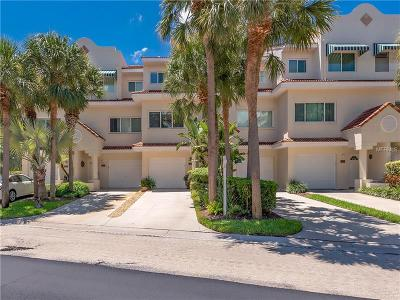 St Pete Beach Townhouse For Sale: 4644 Mirabella Court