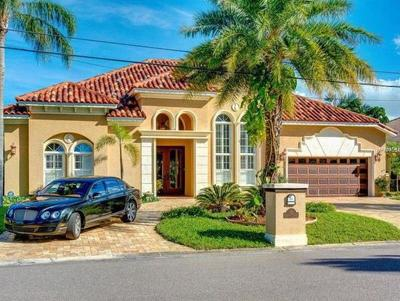 Clearwater Beach FL Single Family Home For Sale: $1,500,000