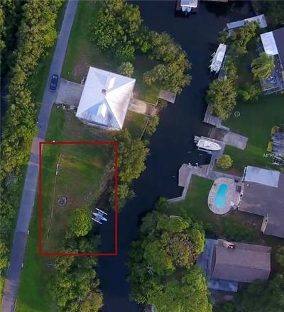 Pasco County Residential Lots & Land For Sale: Stonecrab Drive