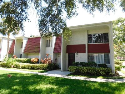 Clearwater Townhouse For Sale: 1827 Pine Cone Circle