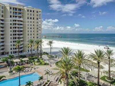Clearwater, Clearwater Beach Condo For Sale: 11 Baymont Street #805
