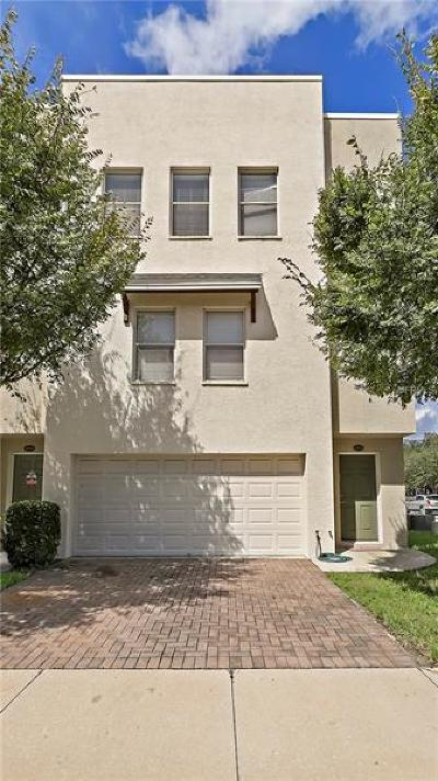 Tampa Townhouse For Sale: 4632 Legacy Park Drive
