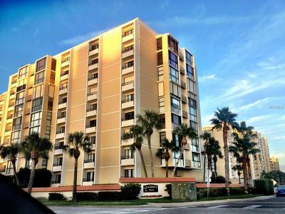 Hernando County, Hillsborough County, Pasco County, Pinellas County Condo For Sale: 800 S Gulfview Boulevard #806