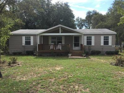Levy County Mobile/Manufactured For Sale: 10530 NE 91st Place