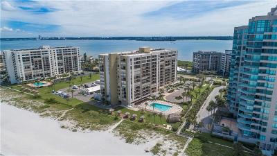 Clearwater Beach Condo For Sale: 1480 Gulf Boulevard #601